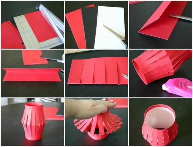 Изготовления бумажного фонарика