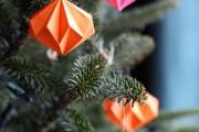 Фото 32 65 идей новогодних игрушек из бумаги своими руками к Новому году 2017