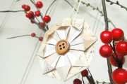 Фото 35 65 идей новогодних игрушек из бумаги своими руками к Новому году 2017