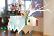 Фото 38 65 идей новогодних игрушек из бумаги своими руками к Новому году 2017