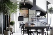 Фото 11 85+ идей кухонных столов: разнообразие форм, цветов, материалов