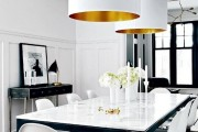 Фото 4 85+ идей кухонных столов: разнообразие форм, цветов, материалов