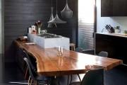 Фото 2 85+ идей кухонных столов: разнообразие форм, цветов, материалов