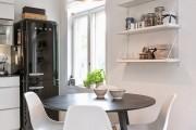 Фото 5 85+ идей кухонных столов: разнообразие форм, цветов, материалов