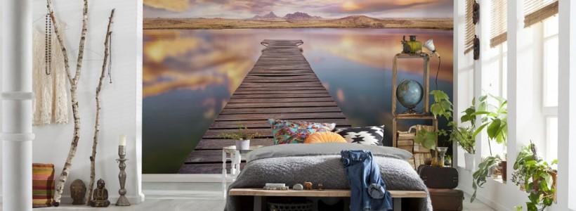 65+ идей 3d обоев на стену в квартире (фото)
