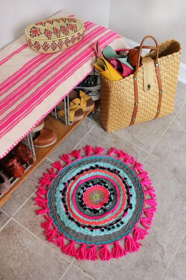 """""""Бабушкины"""" коврики очень популярны в современных домах"""