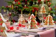 Фото 26 55 идей сервировки новогоднего стола 2017