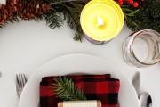 Фото 22 55 идей сервировки новогоднего стола 2017