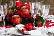 Фото 1 55 идей сервировки новогоднего стола 2017