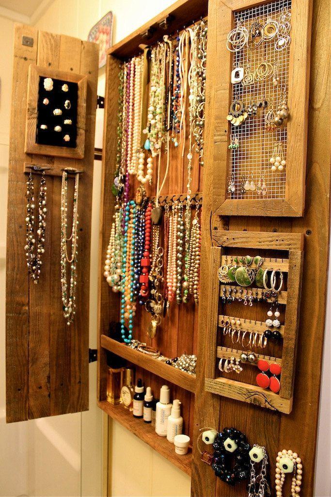 Шкаф для бижутерии и украшений - HappyModern.RU
