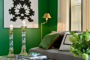 Фото 18 60+ идей сочетания зеленого цвета в интерьере: правила оформления и цвета-партнеры