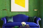 Фото 5 60+ идей сочетания зеленого цвета в интерьере: правила оформления и цвета-партнеры
