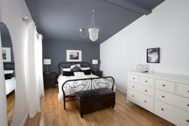 Белый цвет добавит небольшой комнате пространства