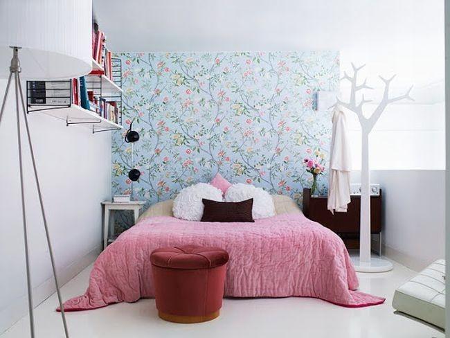 Спокойная пастельная цветовая гамма комнаты