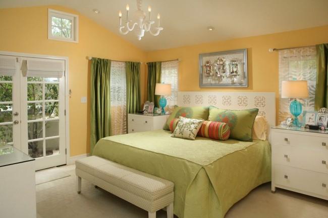 Спальная комната весеннего настроения