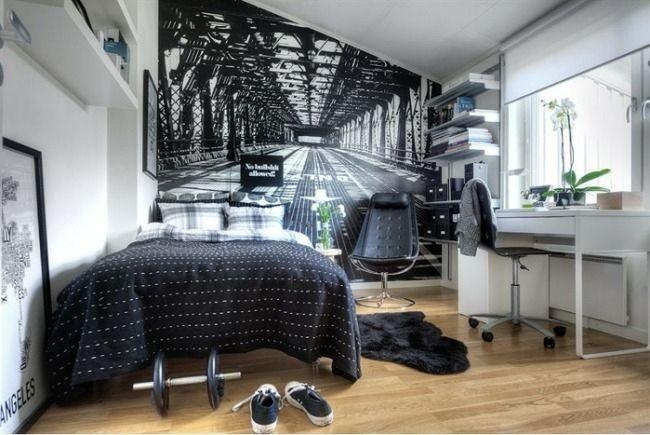Флизелиновые фотообои зрительно увеличат небольшую комнату