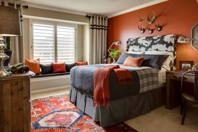Сочная маленькая спальня для подростка