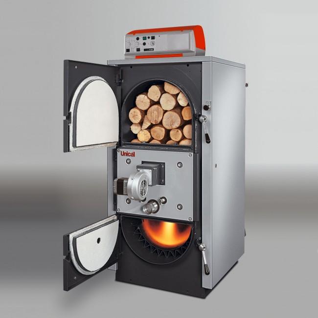 Модель, адаптированная для разных видов твердого топлива