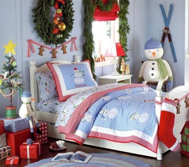 С такими декорациями малыш запомнит этот Новый год