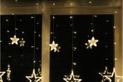 Фото 13 Лучшие варианты украшений на окна к Новому 2019 году