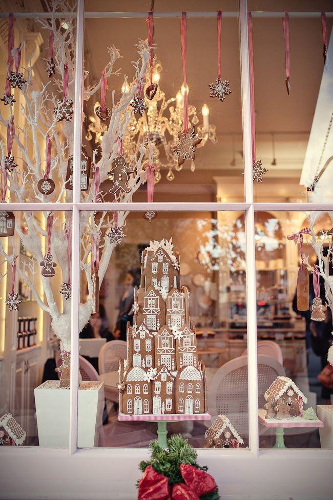 Веселые прянички украсят ваше окно и поднимут настроение вам и всем окружащим