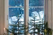 Фото 10 Лучшие варианты украшений на окна к Новому 2019 году