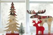 Фото 3 Лучшие варианты украшений на окна к Новому 2018 году