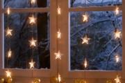Фото 18 Лучшие варианты украшений на окна к Новому 2019 году
