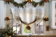 Фото 17 Лучшие варианты украшений на окна к Новому 2019 году