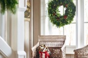 Фото 22 Лучшие варианты украшений на окна к Новому 2019 году
