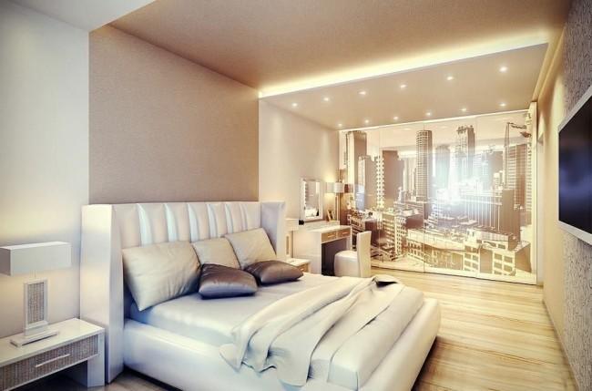 В данной расстановке мебели есть возможность установки дополнительных необходимых аксесуаров