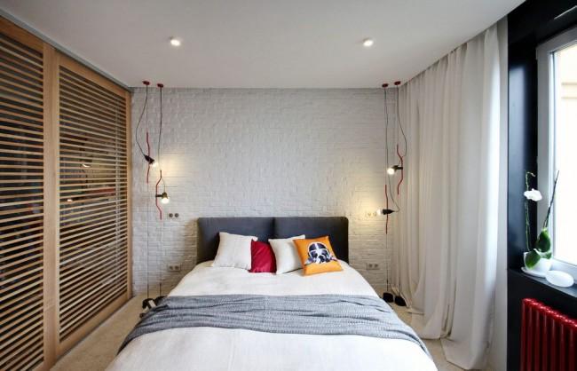 Шкаф-купе поможет комнате остаться в почти неизменных размерах