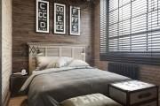 Фото 7 55+ идей узкой спальни: как сделать ремонт правильно