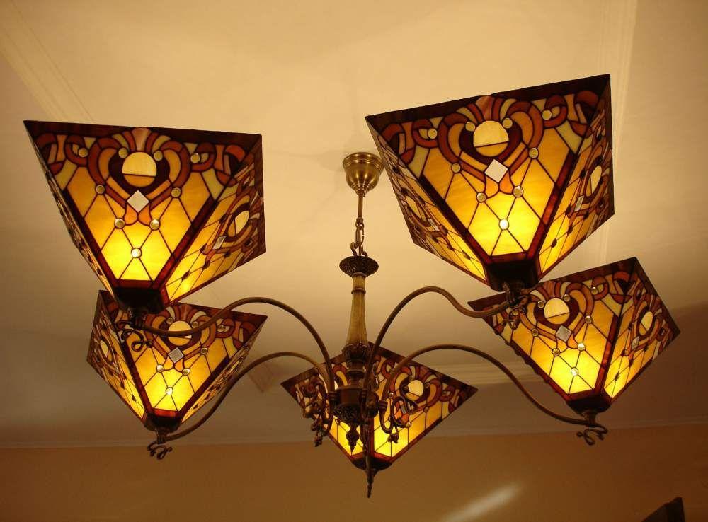 Витражные светильники своими руками