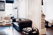 Фото 5 Лучшие идеи зонирования однокомнатной квартиры: как грамотно разграничить пространство?