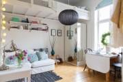 Фото 6 Лучшие идеи зонирования однокомнатной квартиры: как грамотно разграничить пространство?