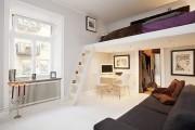 Фото 4 Лучшие идеи зонирования однокомнатной квартиры: как грамотно разграничить пространство?