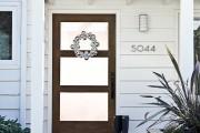 Фото 14 55 идей декора двери своими руками: фото, советы, мастер-классы