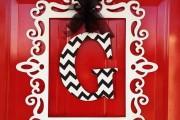 Фото 9 55 идей декора двери своими руками: фото, советы, мастер-классы