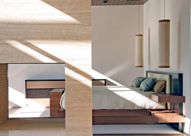 Спальня, расположенная на востоке, наполнена энергией созидания, молодости и творения