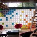 50+ идей стеклоблоков в интерьере фото