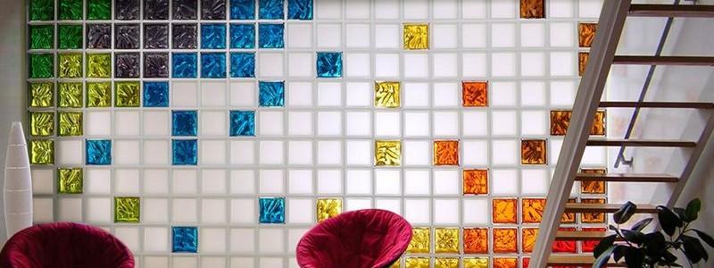 50+ идей стеклоблоков в интерьере