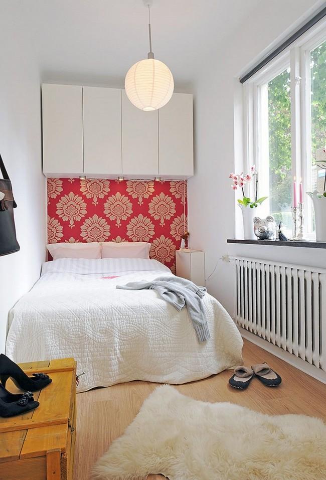 Антресоль в маленькой спальне