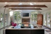 Фото 17 60 идей балок на потолке: современное решение для интерьера