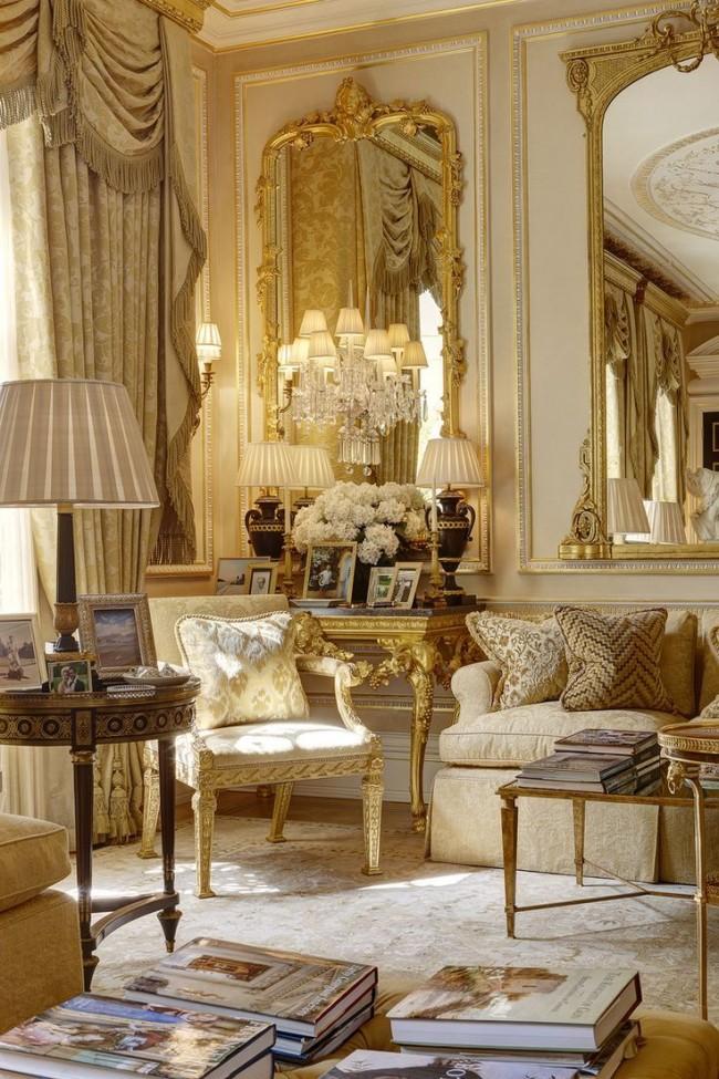 55 идей стиля барокко в интерьере