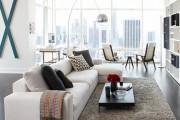 Фото 7 60 идей дизайна интерьера белой гостиной: в каких стилях уместен?