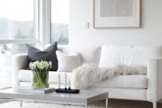 Фото 8 60 идей дизайна интерьера белой гостиной: в каких стилях уместен?