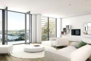 Фото 5 60 идей дизайна интерьера белой гостиной: в каких стилях уместен?