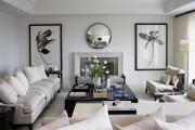 Фото 9 60 идей дизайна интерьера белой гостиной: в каких стилях уместен?