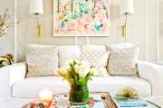 Фото 2 60 идей дизайна интерьера белой гостиной: в каких стилях уместен?